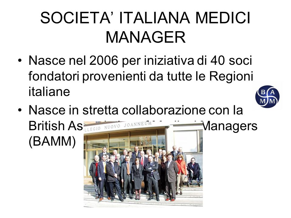 SOCIETA' ITALIANA MEDICI MANAGER