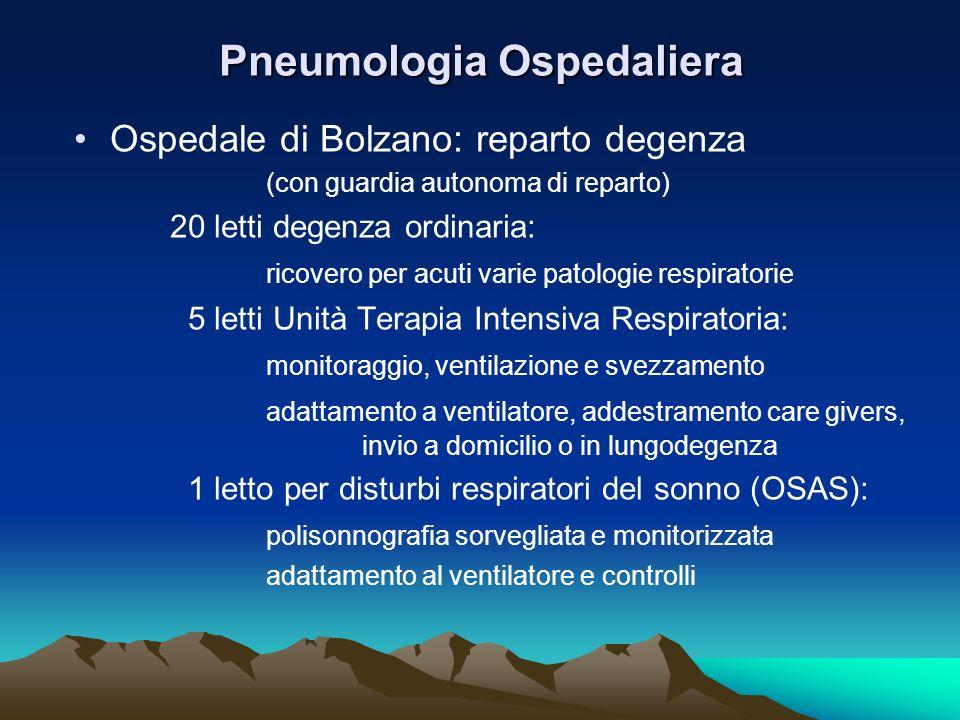 Pneumologia Ospedaliera