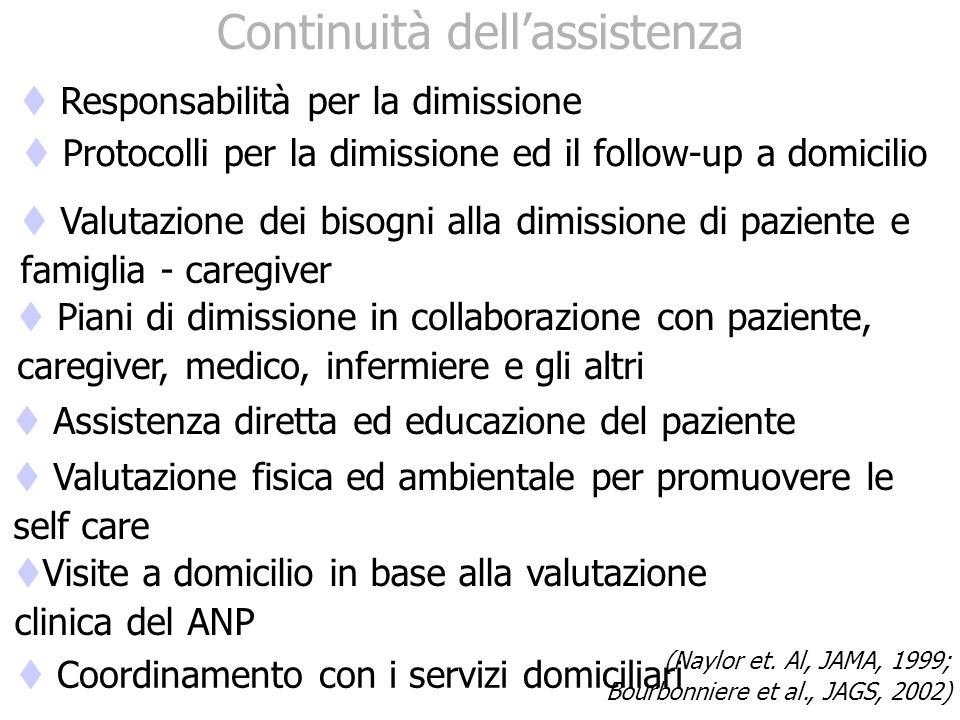 Continuità dell'assistenza