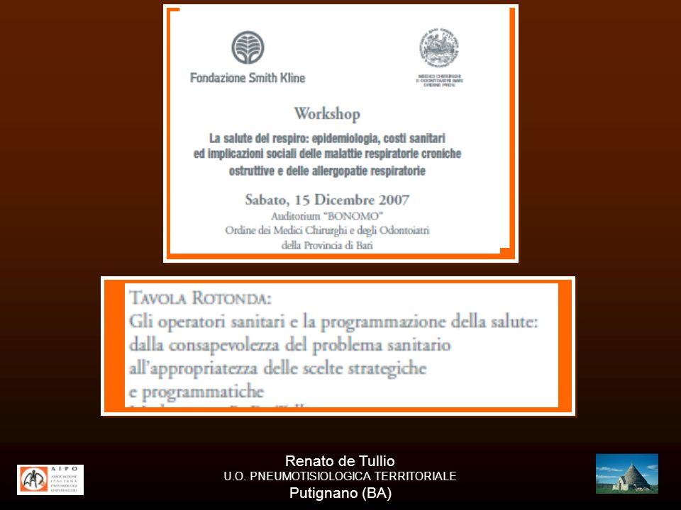 U.O. PNEUMOTISIOLOGICA TERRITORIALE