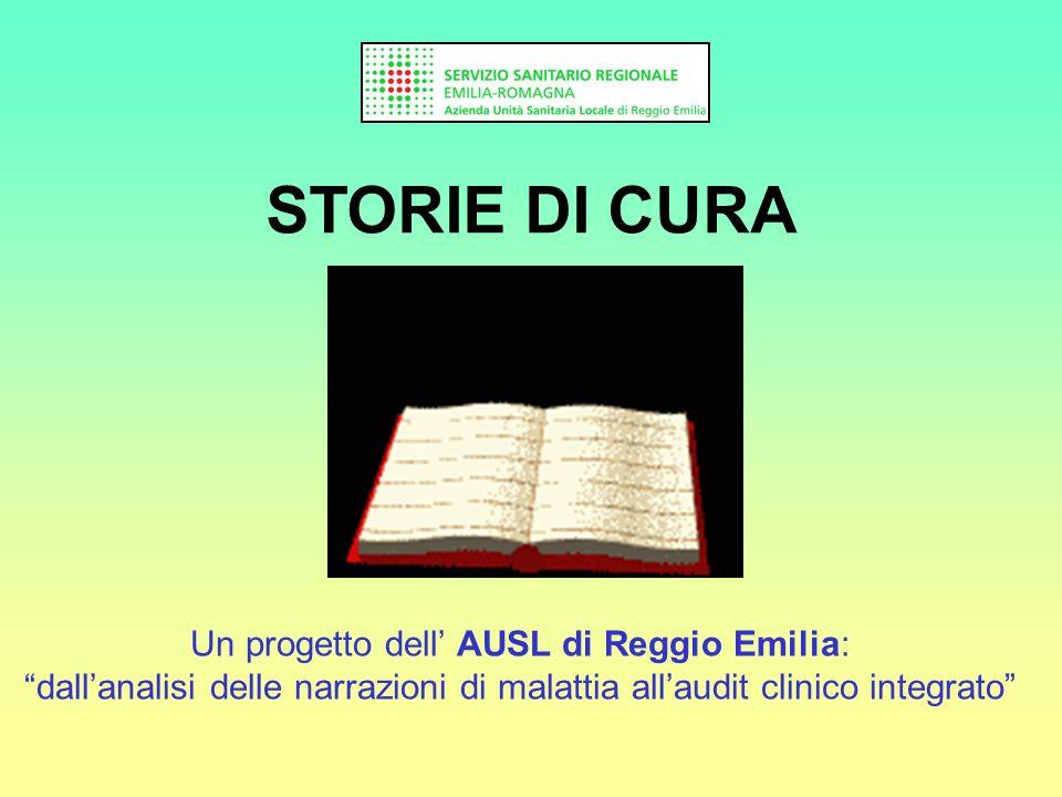 Un progetto dell' AUSL di Reggio Emilia: