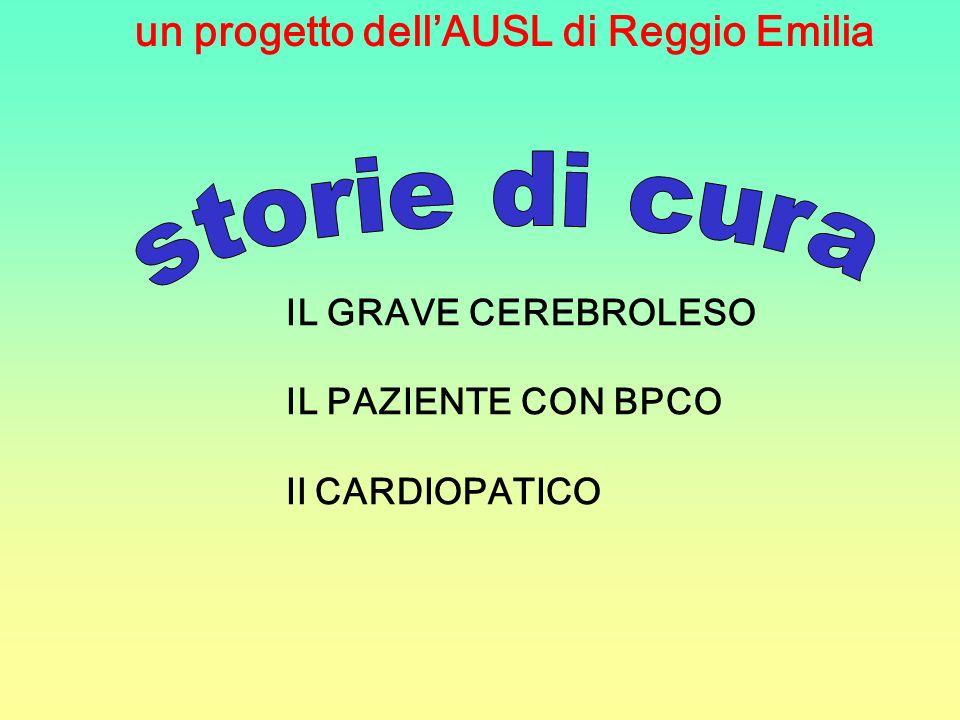 storie di cura un progetto dell'AUSL di Reggio Emilia