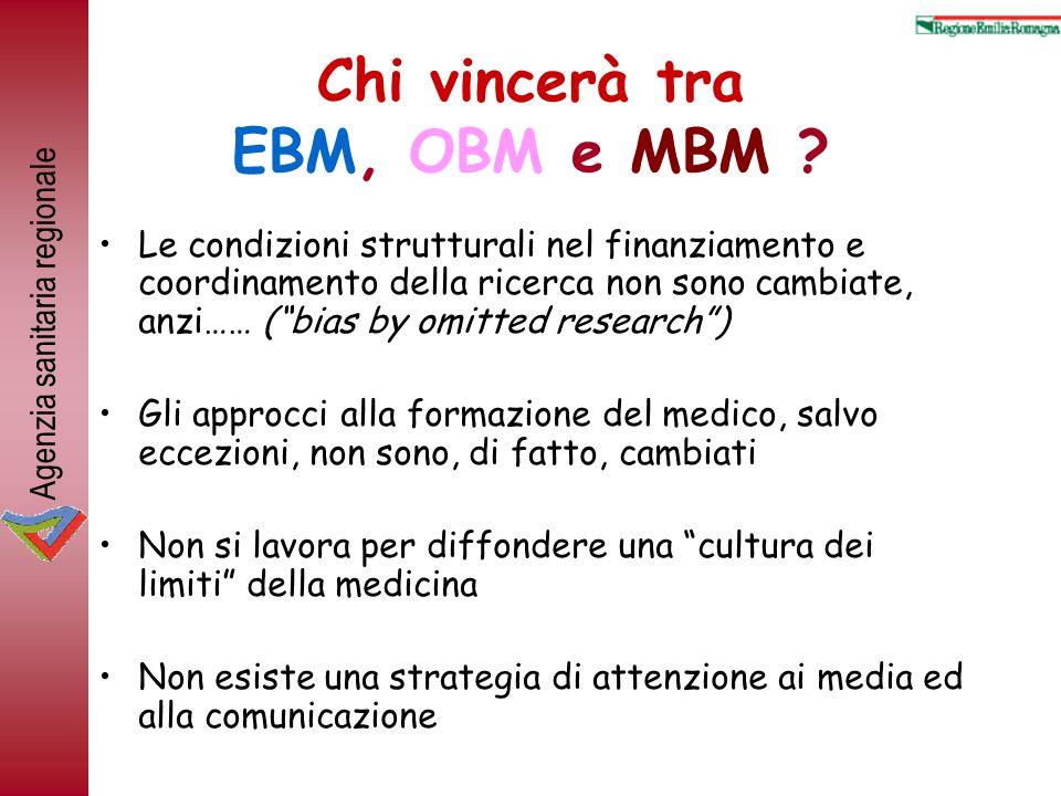 Chi vincerà tra EBM, OBM e MBM