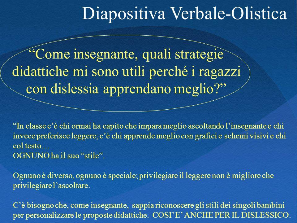 Diapositiva Verbale-Olistica