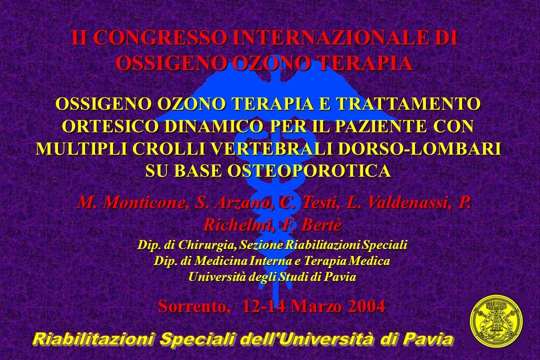 Riabilitazioni Speciali dell Università di Pavia