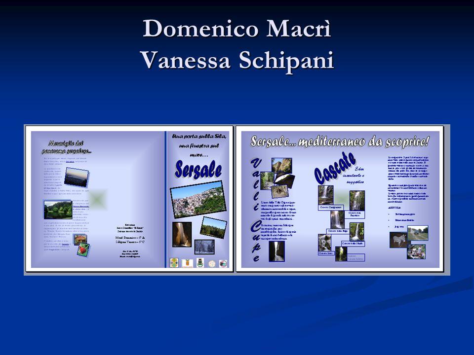 Domenico Macrì Vanessa Schipani