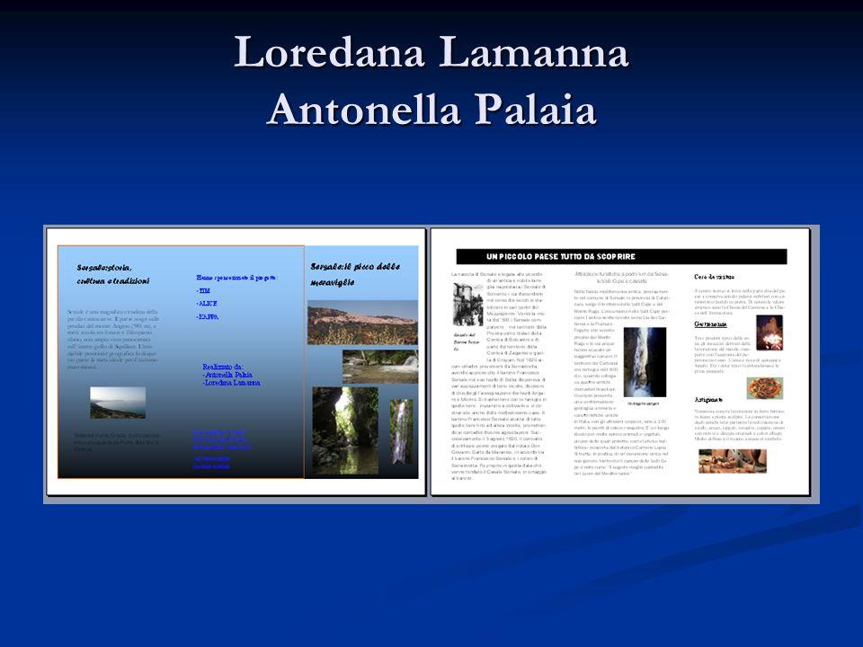 Loredana Lamanna Antonella Palaia