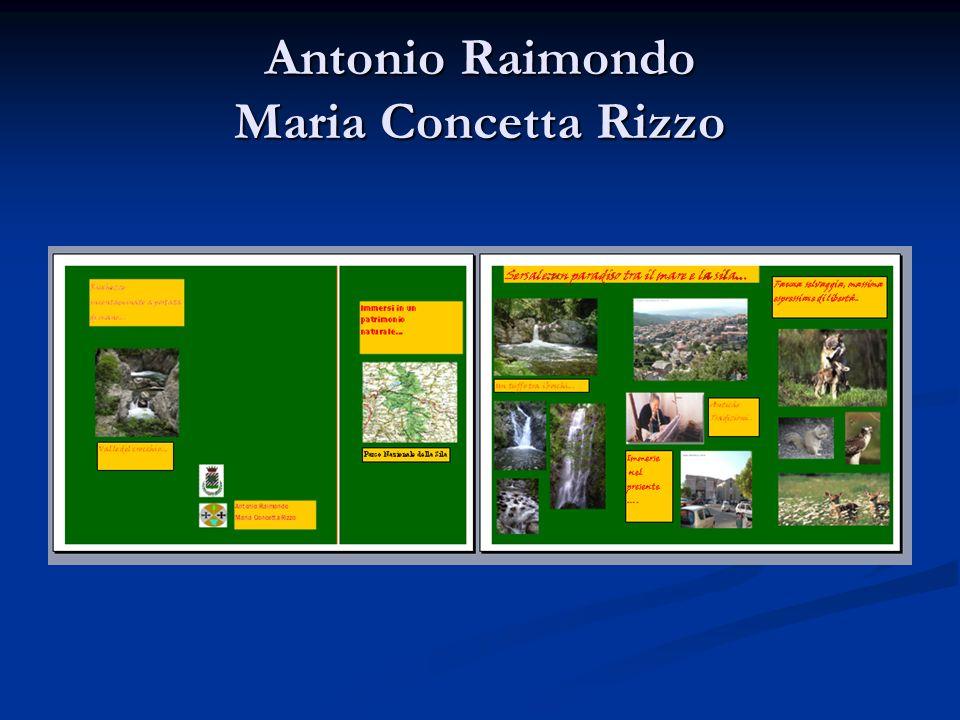 Antonio Raimondo Maria Concetta Rizzo