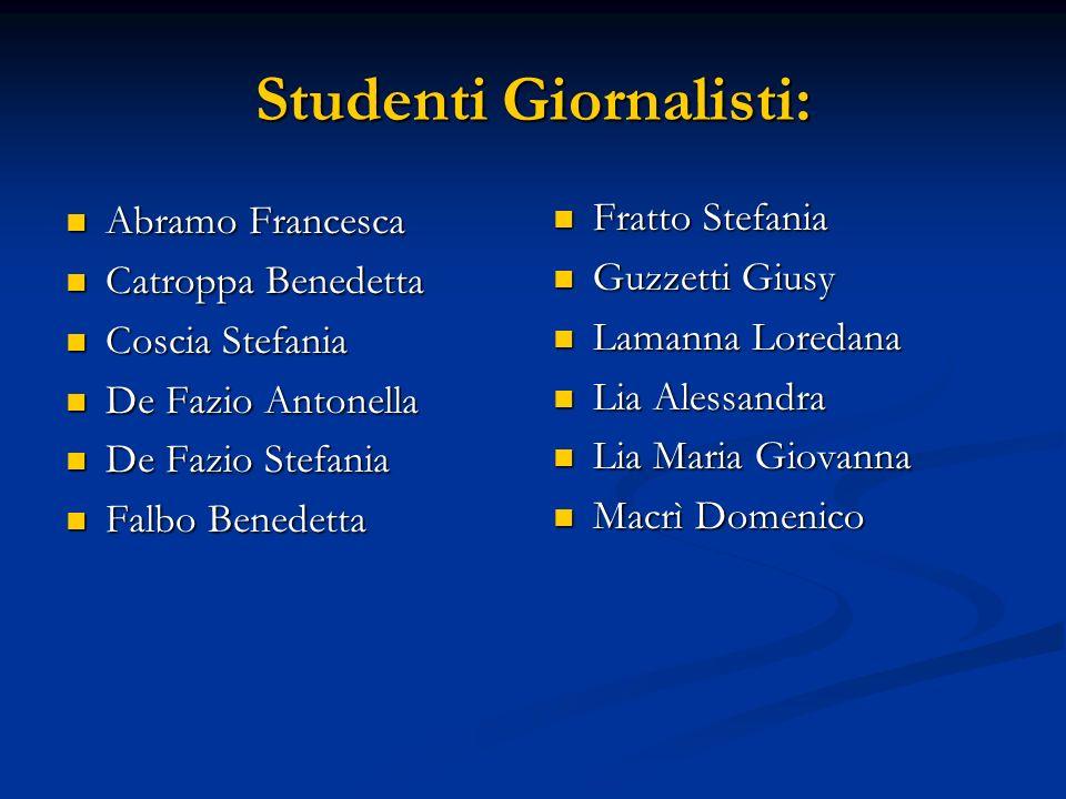 Studenti Giornalisti: