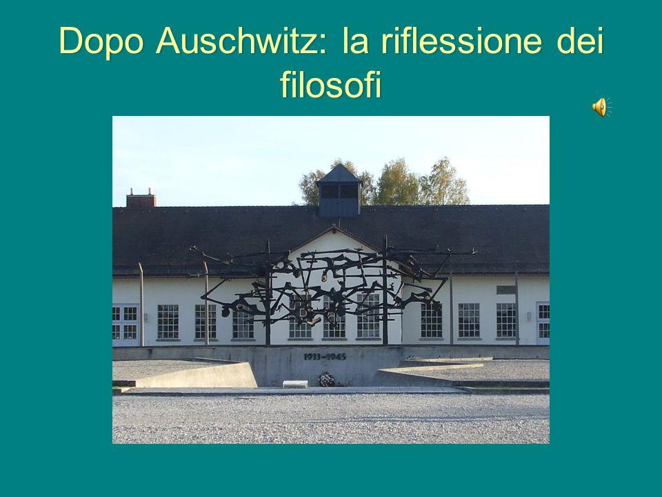 Dopo Auschwitz: la riflessione dei filosofi
