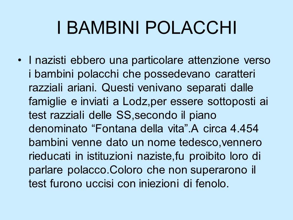 I BAMBINI POLACCHI