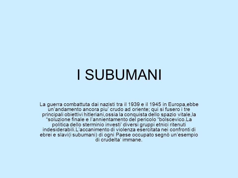 I SUBUMANI