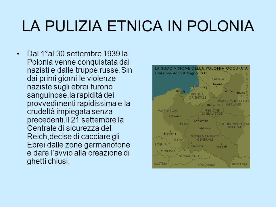 LA PULIZIA ETNICA IN POLONIA