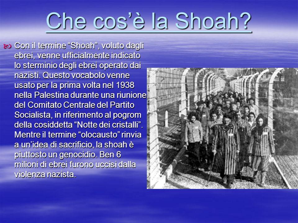 Che cos'è la Shoah