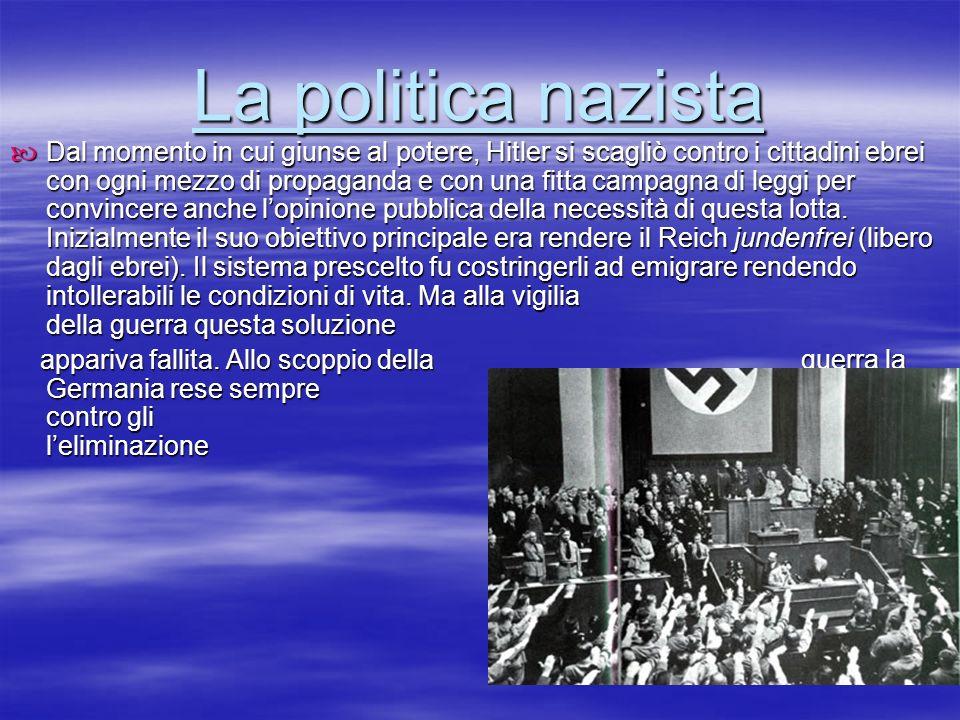 La politica nazista