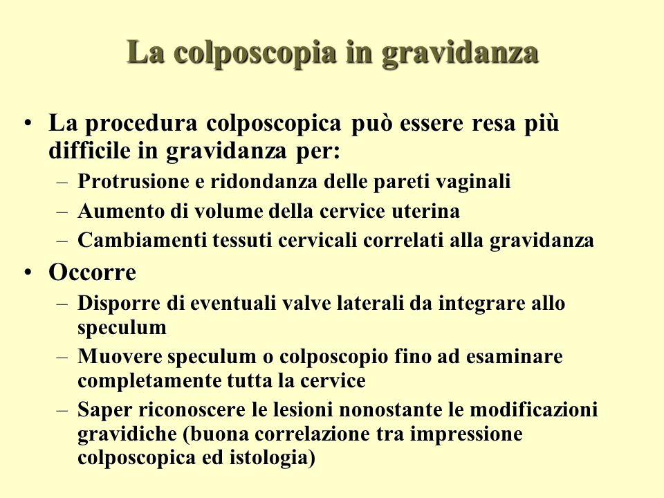 La colposcopia in gravidanza