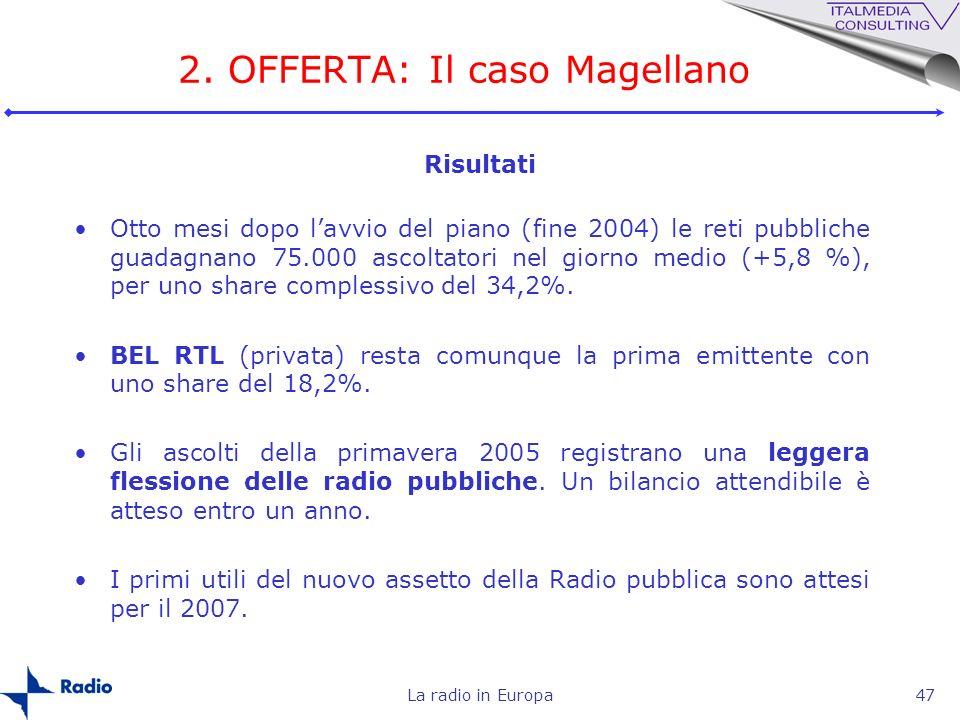 2. OFFERTA: Il caso Magellano