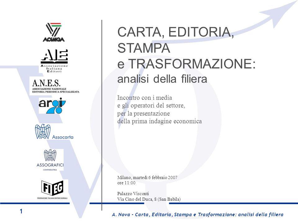 e TRASFORMAZIONE: analisi della filiera Incontro con i media
