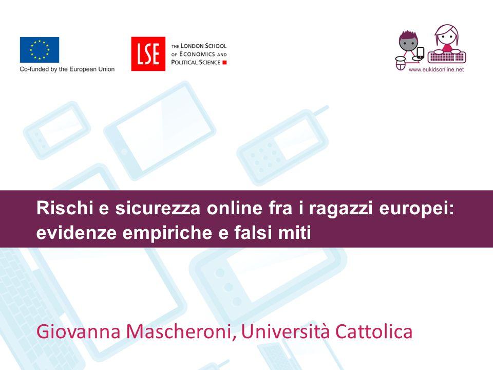 Giovanna Mascheroni, Università Cattolica