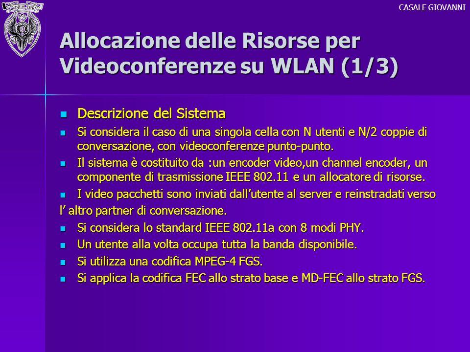 Allocazione delle Risorse per Videoconferenze su WLAN (1/3)