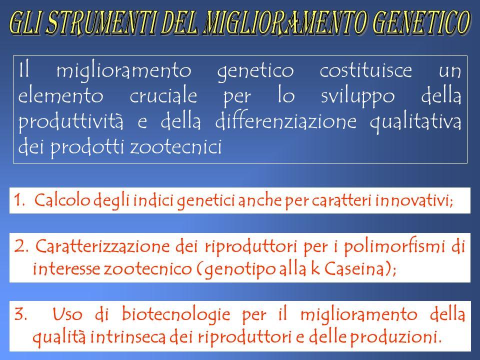 gli strumenti del miglioramento genetico