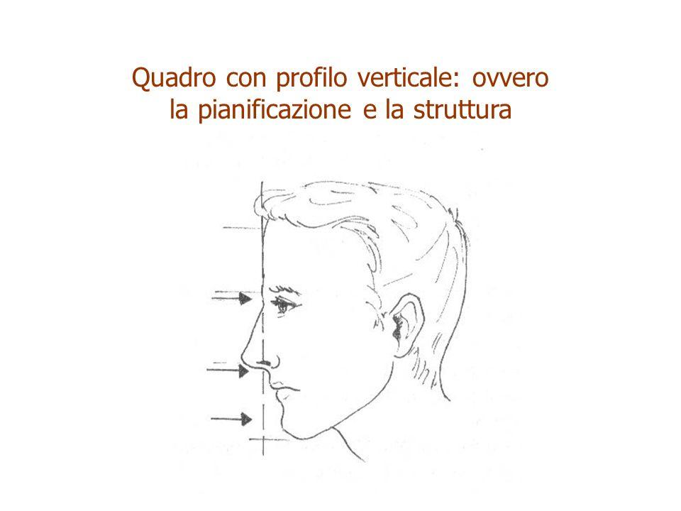 Quadro con profilo verticale: ovvero la pianificazione e la struttura