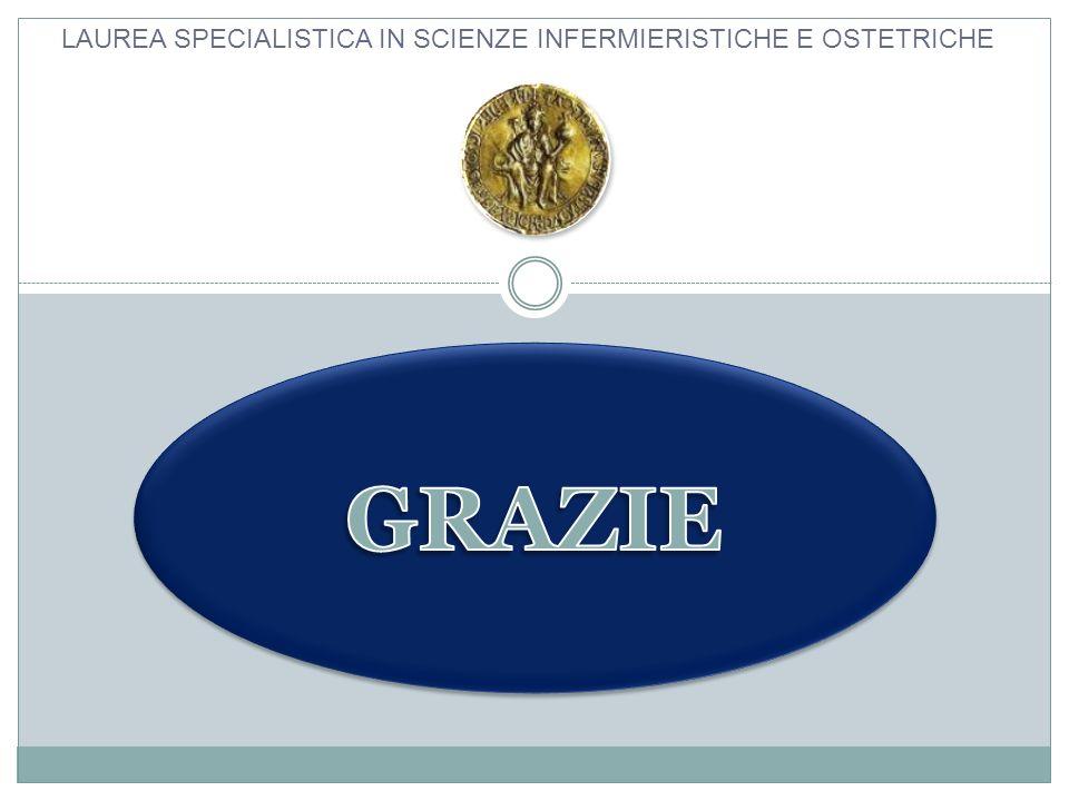 LAUREA SPECIALISTICA IN SCIENZE INFERMIERISTICHE E OSTETRICHE
