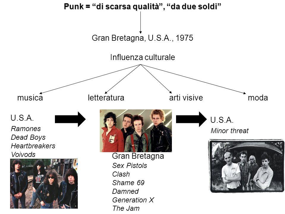 Punk = di scarsa qualità , da due soldi