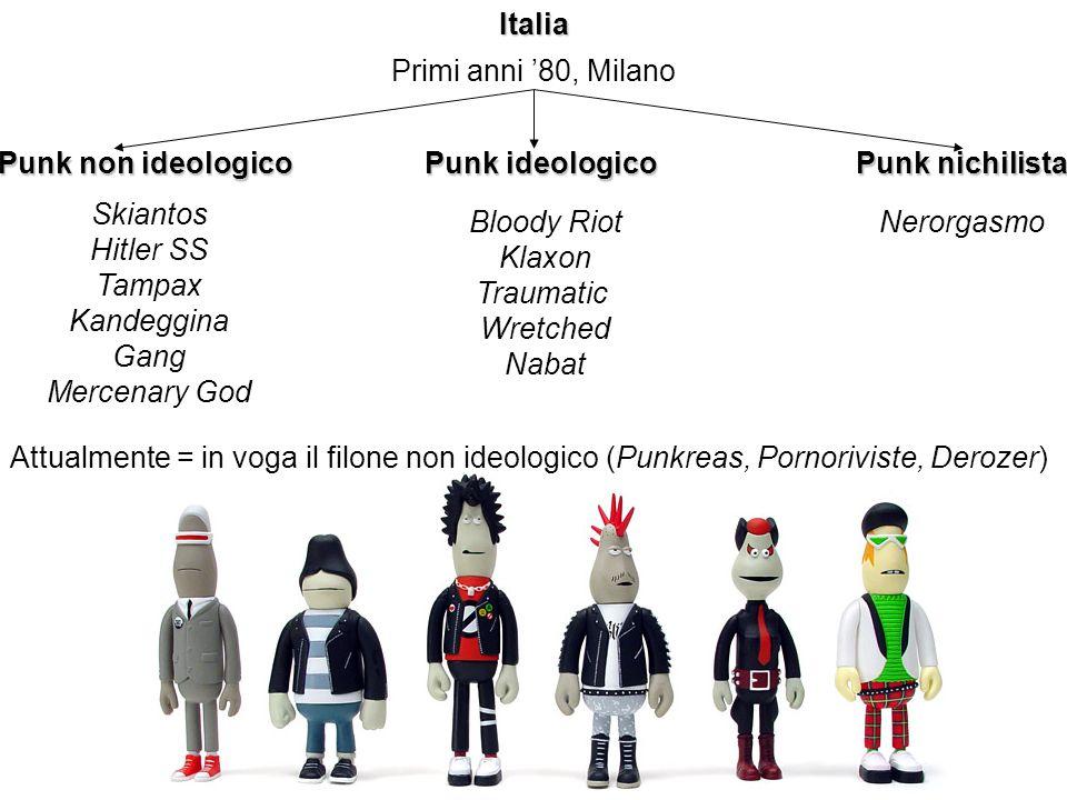 Italia Primi anni '80, Milano. Punk non ideologico. Punk ideologico. Punk nichilista. Skiantos.