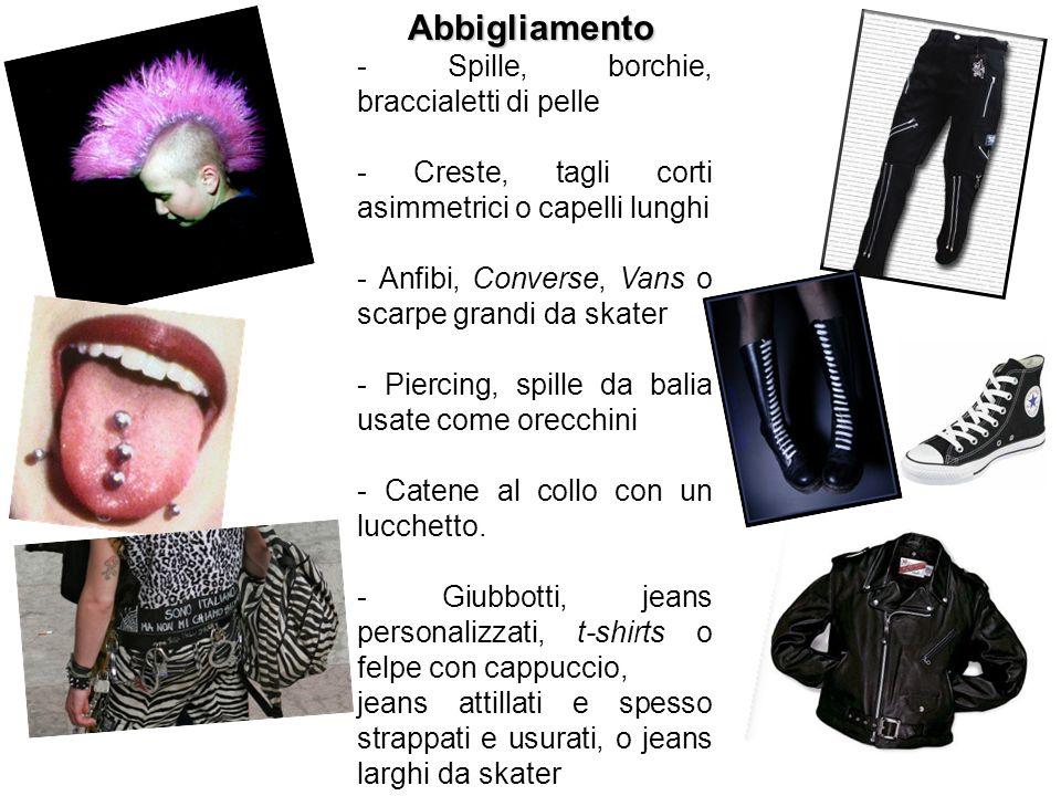 Abbigliamento - Spille, borchie, braccialetti di pelle