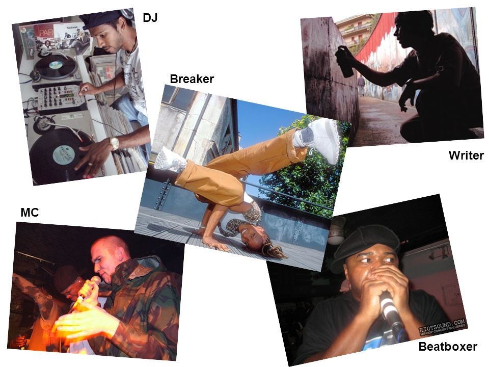 DJ Breaker Writer MC Beatboxer