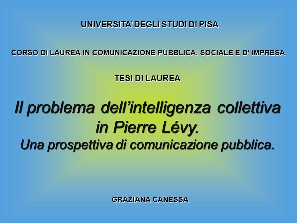 UNIVERSITA' DEGLI STUDI DI PISA