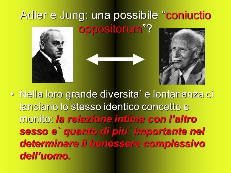 Adler e Jung: una possibile coniuctio oppositorum