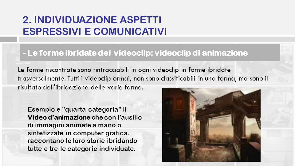 2. INDIVIDUAZIONE ASPETTI ESPRESSIVI E COMUNICATIVI