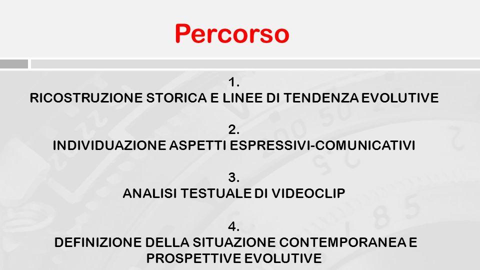 Percorso 1. RICOSTRUZIONE STORICA E LINEE DI TENDENZA EVOLUTIVE 2.