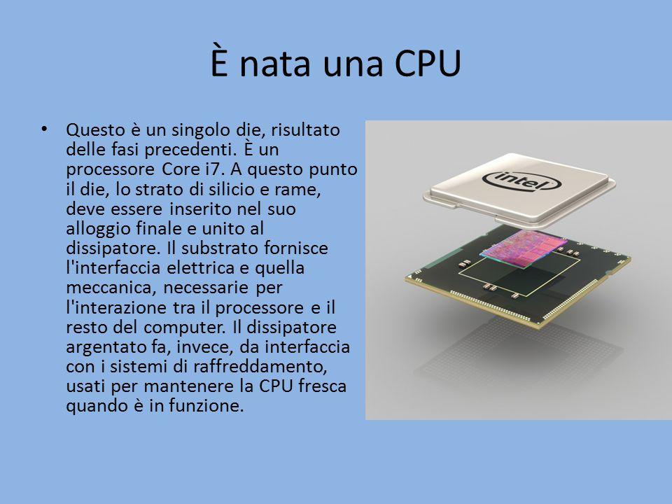 È nata una CPU
