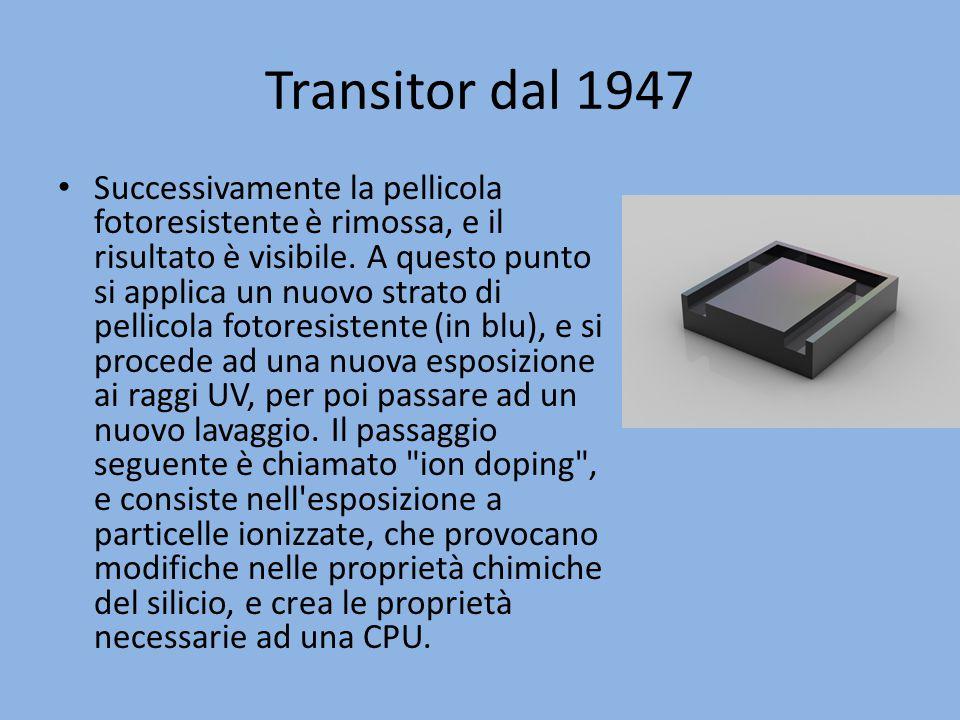 Transitor dal 1947