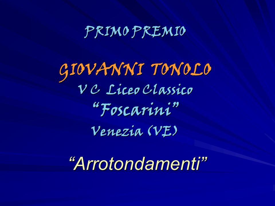 GIOVANNI TONOLO Foscarini