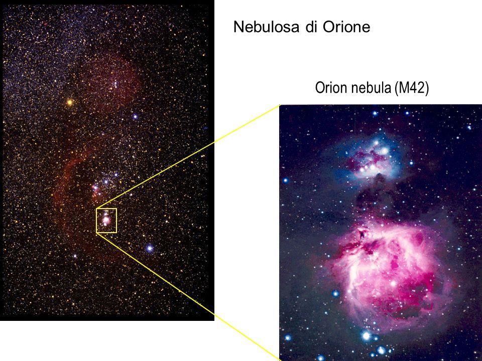 Nebulosa di Orione Orion nebula (M42)