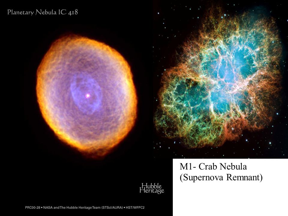 M1- Crab Nebula (Supernova Remnant)