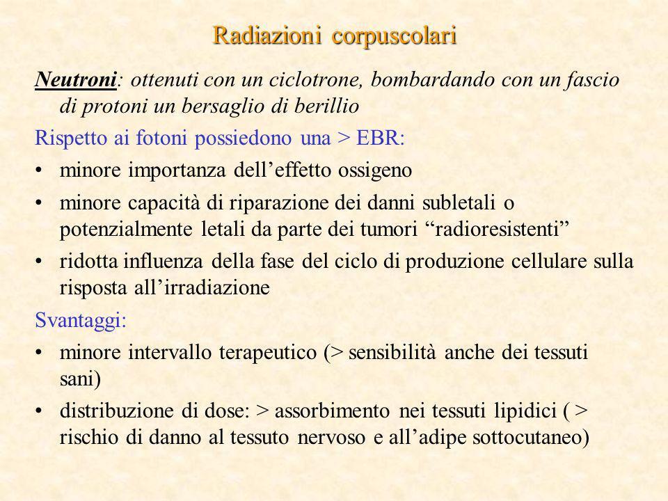 Radiazioni corpuscolari
