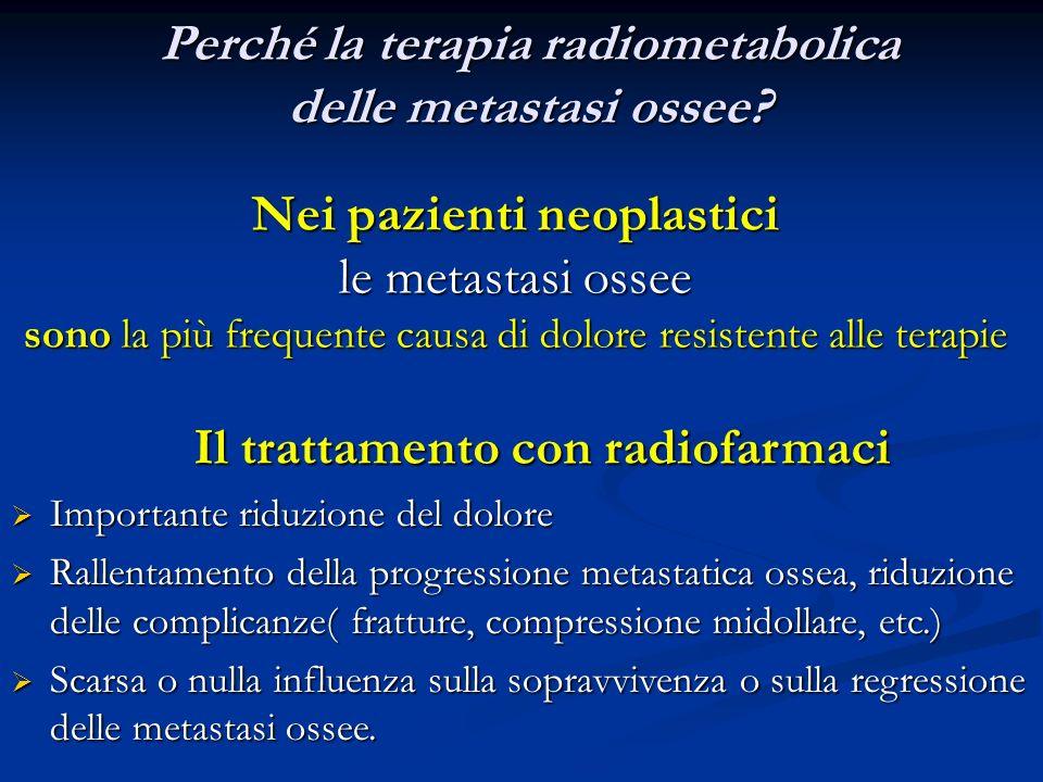 Perché la terapia radiometabolica