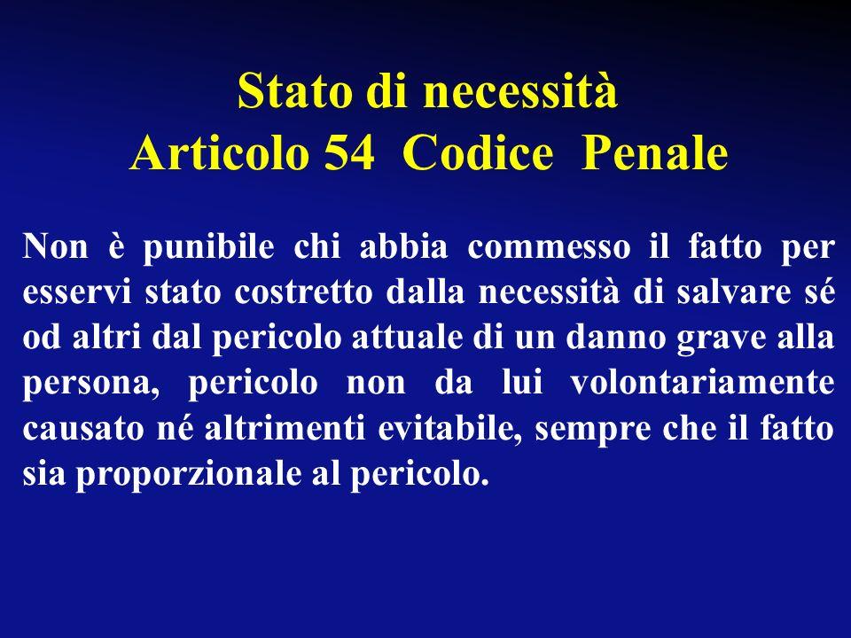 Articolo 54 Codice Penale