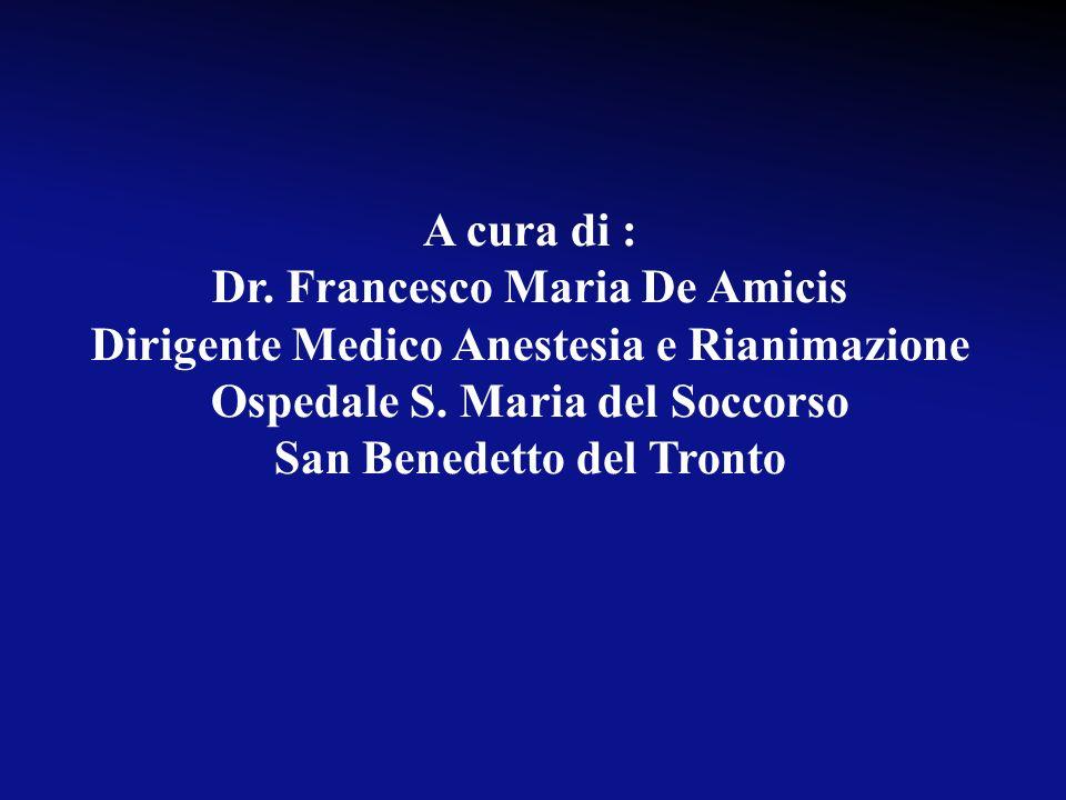 Dr. Francesco Maria De Amicis