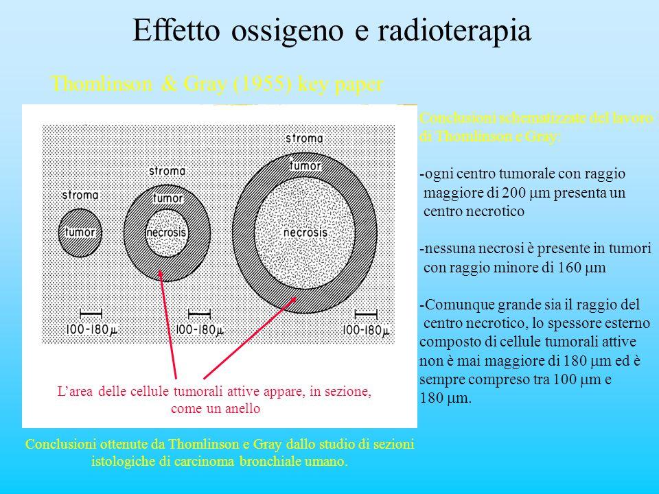 Effetto ossigeno e radioterapia