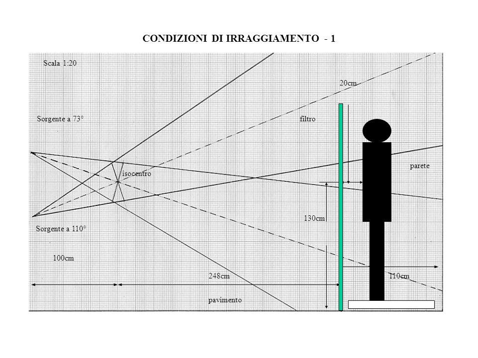CONDIZIONI DI IRRAGGIAMENTO - 1