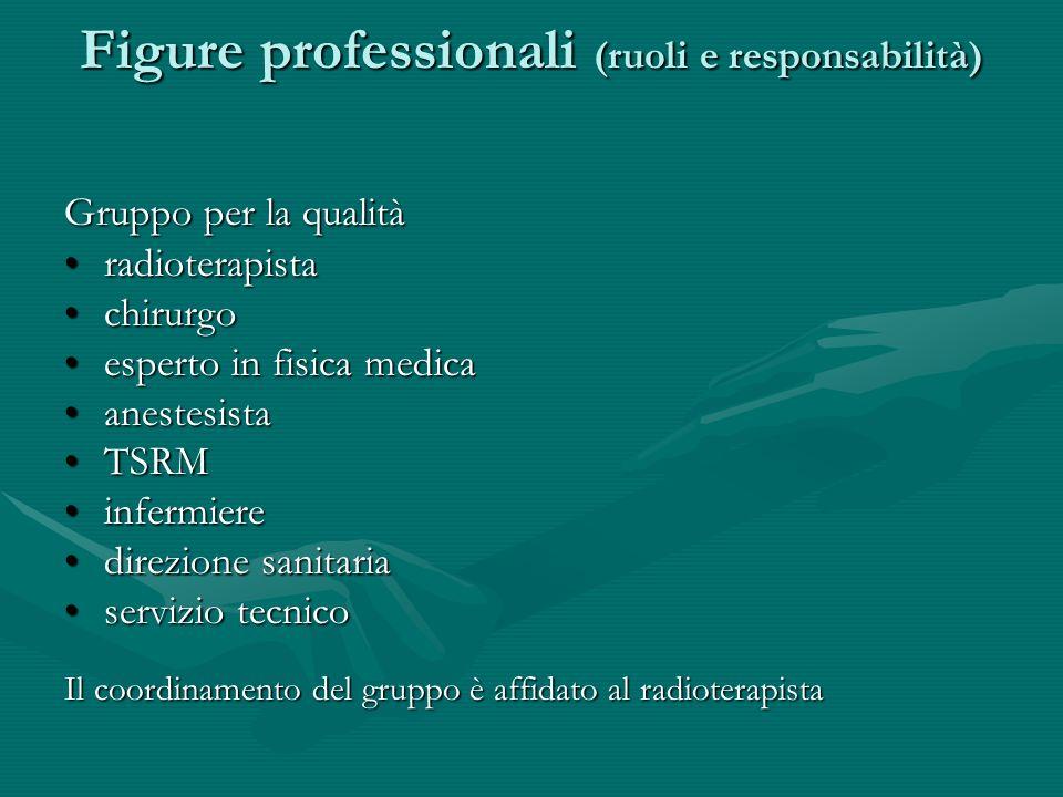 Figure professionali (ruoli e responsabilità)