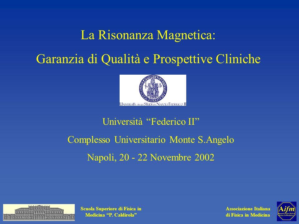 La Risonanza Magnetica: Garanzia di Qualità e Prospettive Cliniche