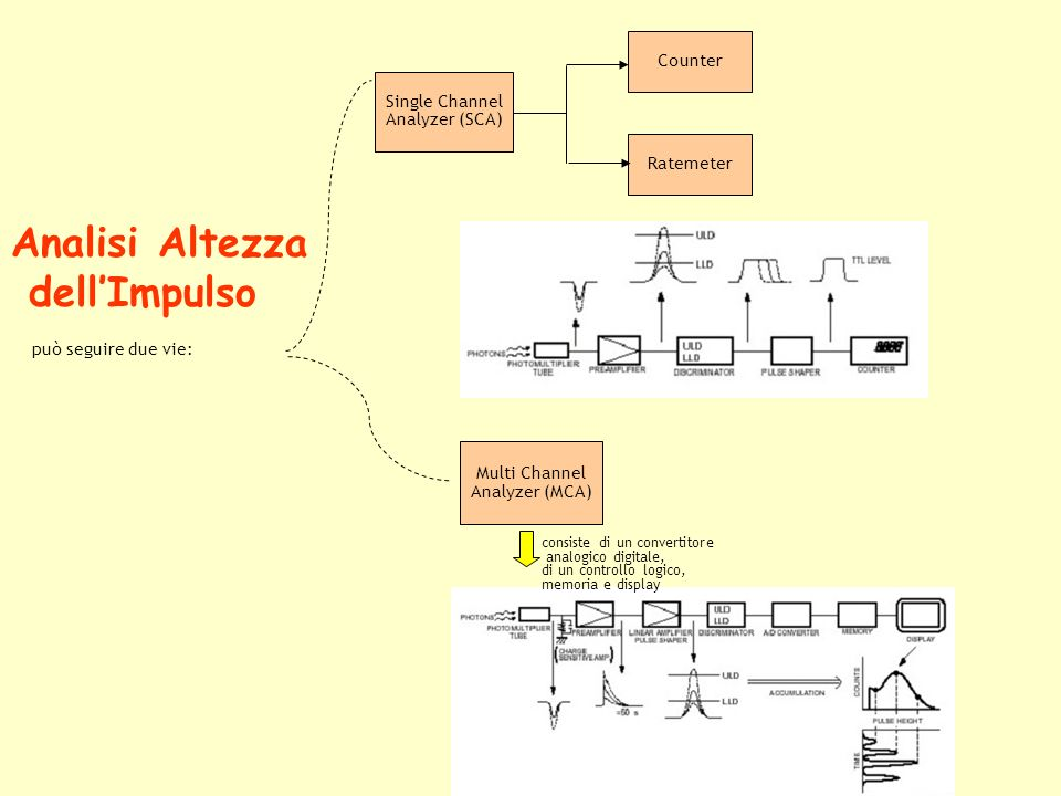 Analisi Altezza dell'Impulso Multi Channel Counter Single Channel