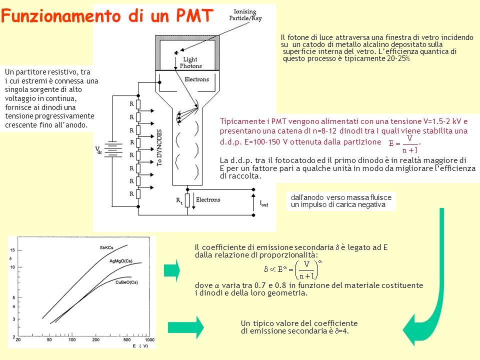 Funzionamento di un PMT